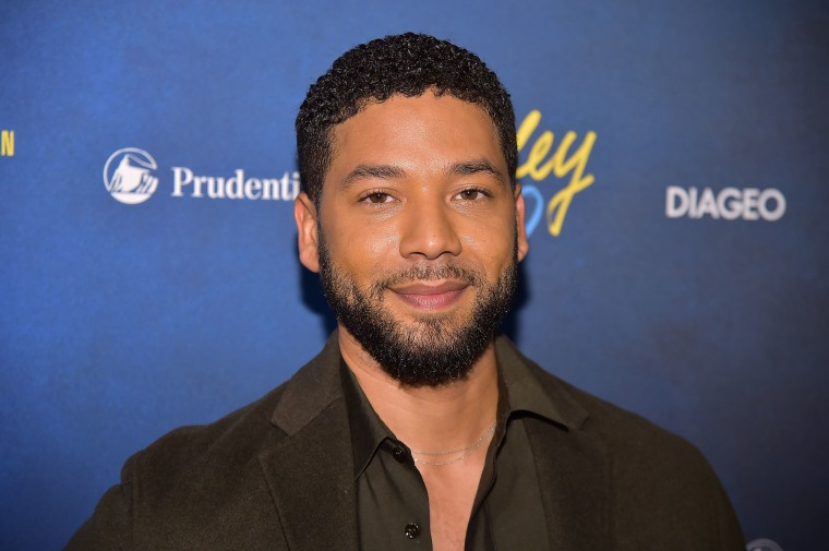 "Jussie Smollett reportedly attacked in hate crime by men shouting ""This is MAGA country"""