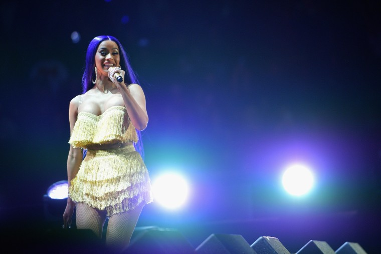Cardi B says she will release a new album this year