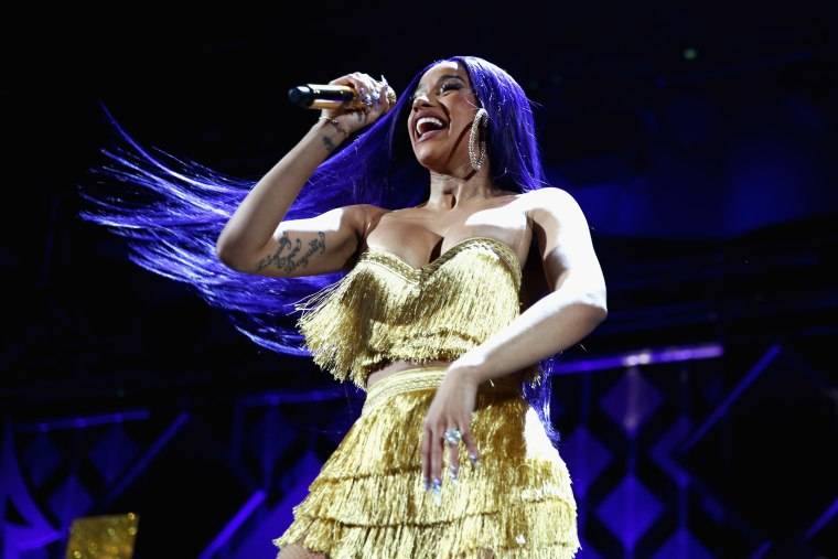 Cardi B defends publicist after footage emerges of her leading Offset to Rolling Loud stage
