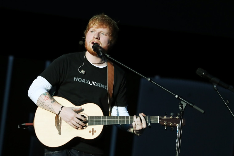 Cardi B, Travis Scott, Young Thug, and Eminem are all on the new Ed Sheeran album's tracklist