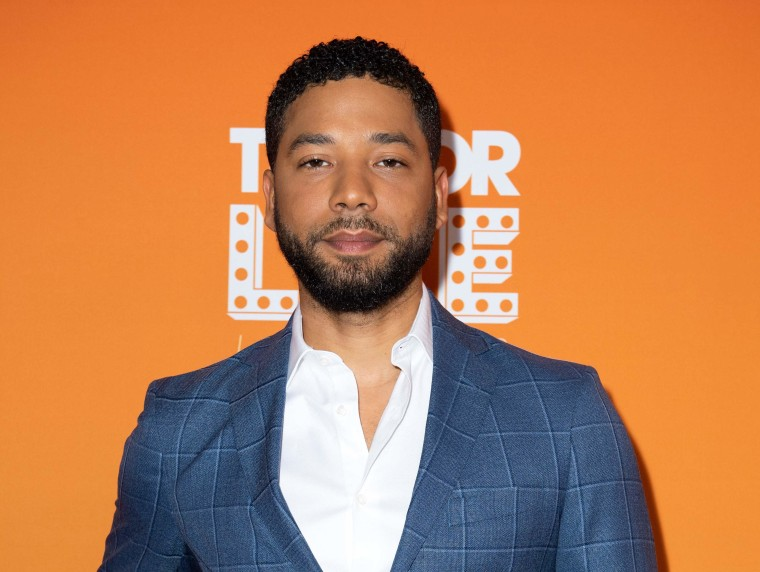 Jussie Smollett charged with felony for filing a false police report