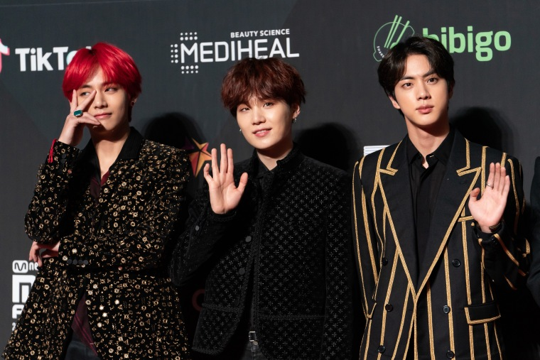 BTS will reportedly present an award at the Grammys