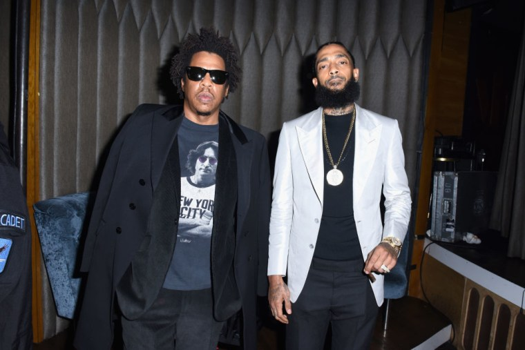 """JAY-Z and Nipsey Hussle appear together on """"What It Feels Like"""""""