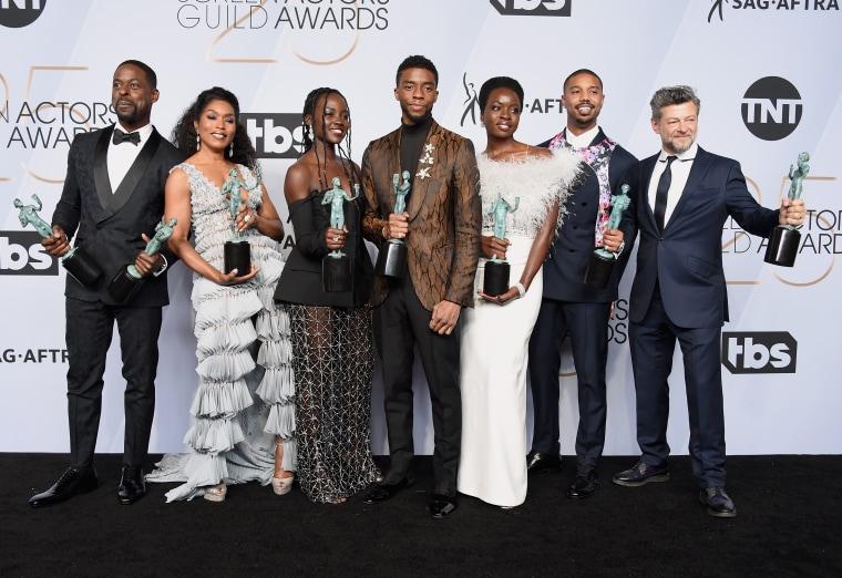 <i>Black Panther</i> wins SAG Awards prize ahead of Oscar ceremony