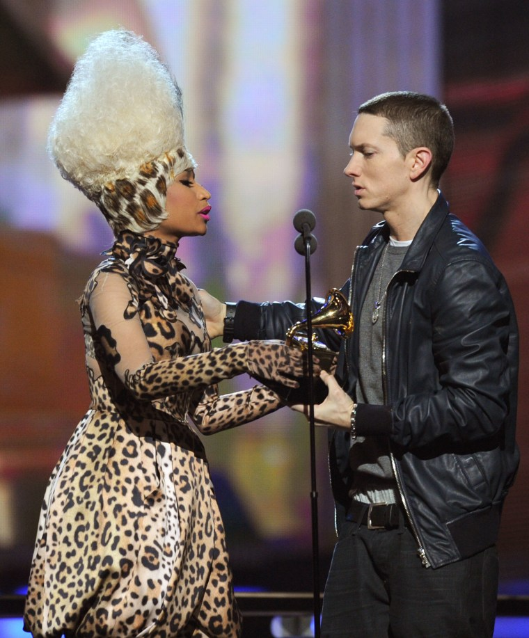 Nicki Minaj and Eminem tease dating rumors