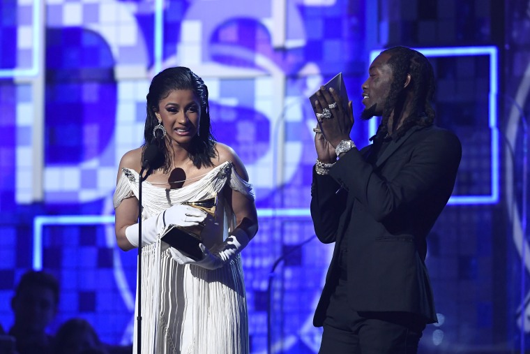 Watch Cardi B become the first woman to win Best Rap Album as a solo artist during Grammys