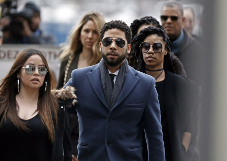 Jussie Smollett has pled not guilty to felony charges