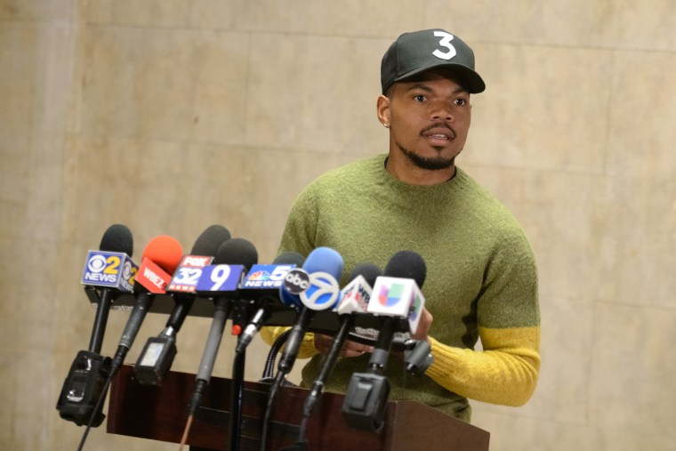 So, Chance the Rapper does stand-up comedy now
