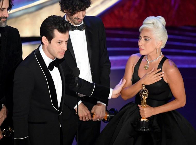 Lady Gaga just won her first Oscar