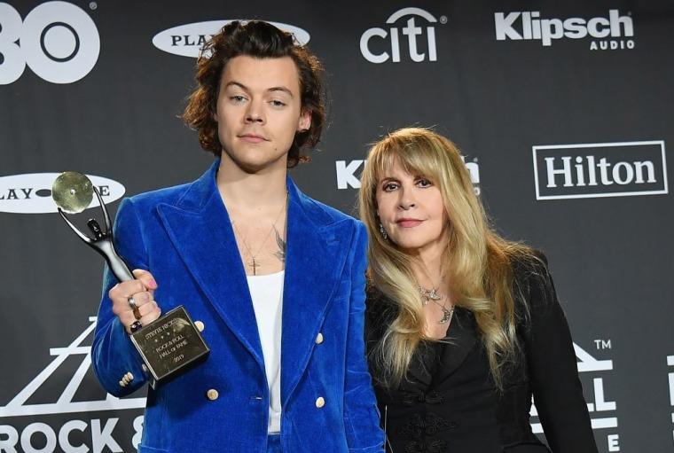 Stevie Nicks says Harry Styles's new album is his <I>Rumours</i>
