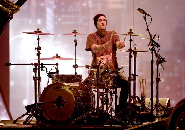 How Blink-182's Travis Barker became rap's favorite drummer