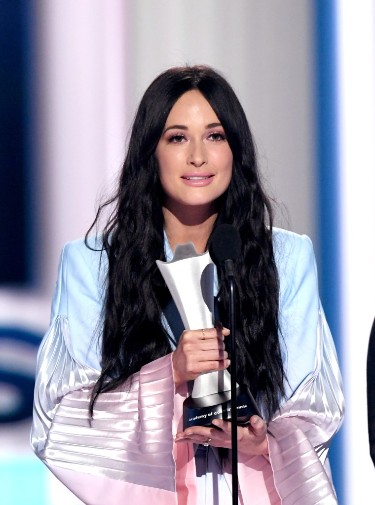 Kacey Musgraves won Album of the Year at the ACM Awards