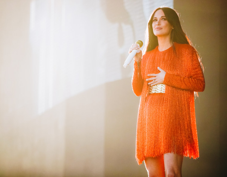 "Kacey Musgraves responds to weekend's mass shootings: ""Somebody fucking do something"""