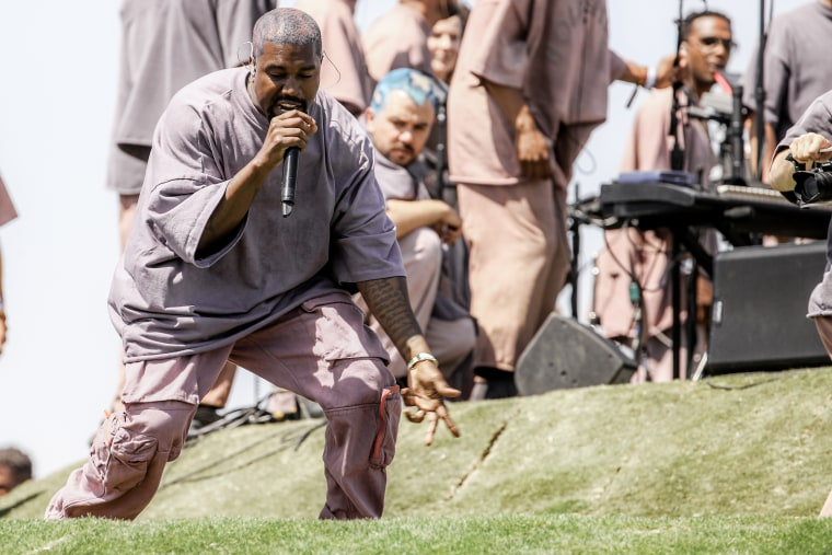 Kanye West brings a Saturday edition of Sunday Service to Salt Lake City