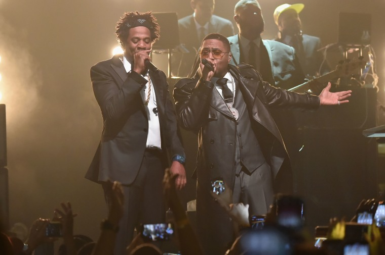 watch jay z bring out nas cam ron and jim jones at his b sides show at webster hall the fader