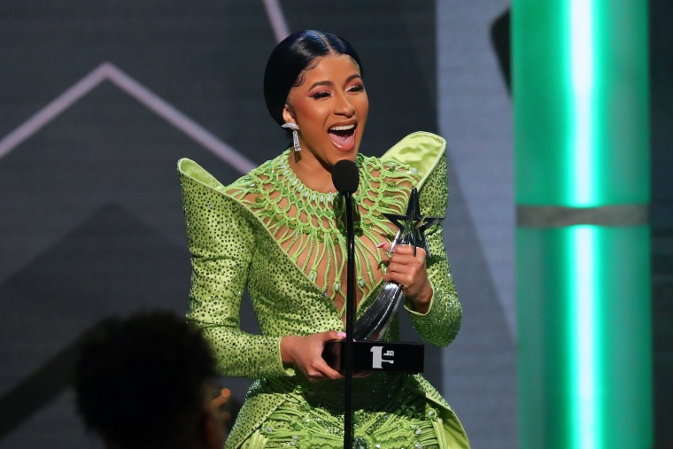 Cardi B drops new track to celebrate Kulture's birthday