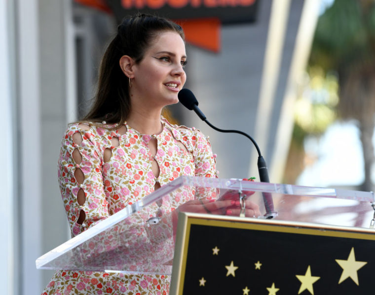 "Lana Del Rey shares new songs ""Looking For America"" and ""Season Of The Witch"""