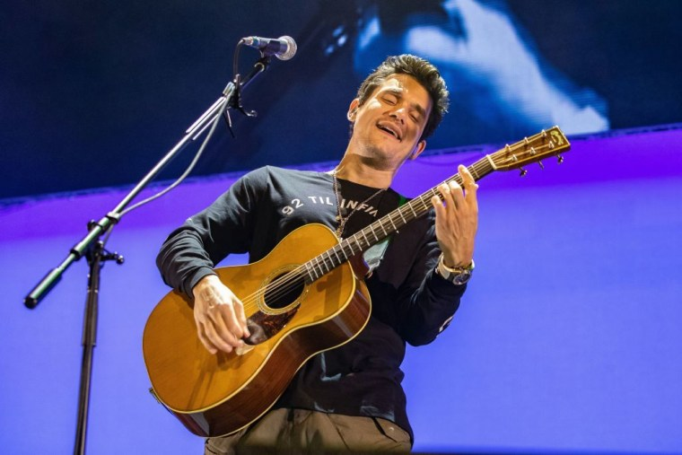 "John Mayer excluded from celebrity ""Imagine"" video after accidentally singing Ariana Grande instead"