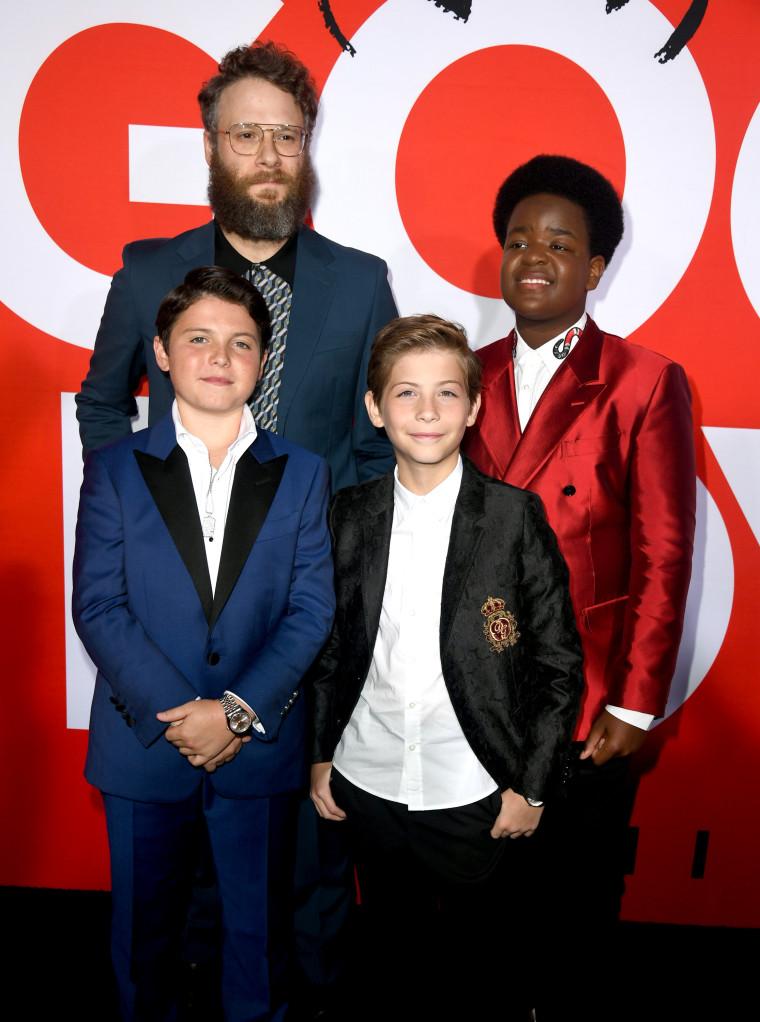 Seth Rogen's <i>Good Boys</i> top the box office