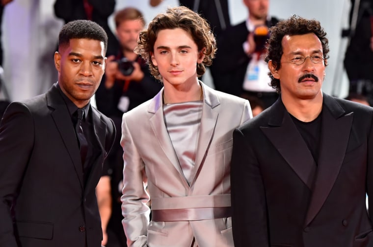 Watch Timothée Chalamet perform with Kid Cudi