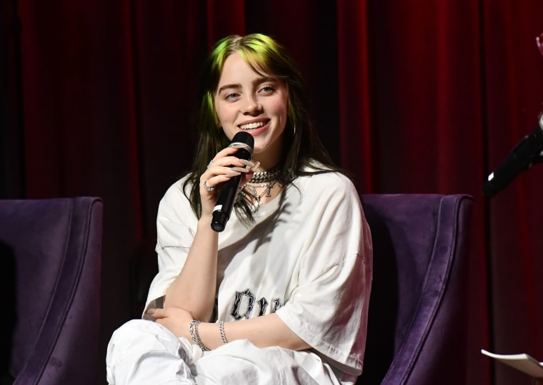 Billie Eilish reveals children's clothing line