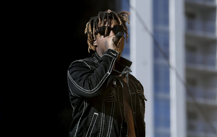 USA  rapper Juice Wrld dies aged 21