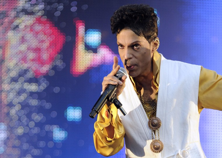 """Listen to a previously unreleased version of Prince's classic """"I Could Never Take The Place Of Your Man"""""""
