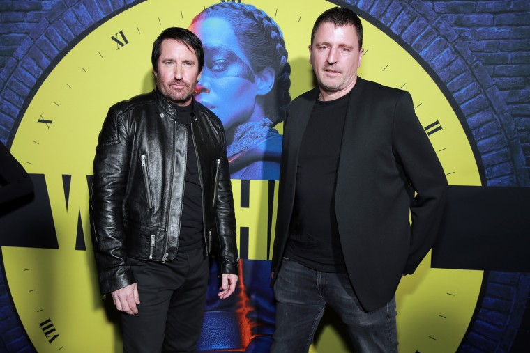 Trent Reznor and Atticus Ross announce vinyl-only <i>Watchmen</i> soundtrack