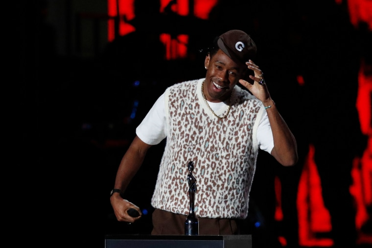 "Watch Tyler, The Creator thank Theresa May at the 2020 Brit Awards: ""I know she's sitting at home pissed off"""