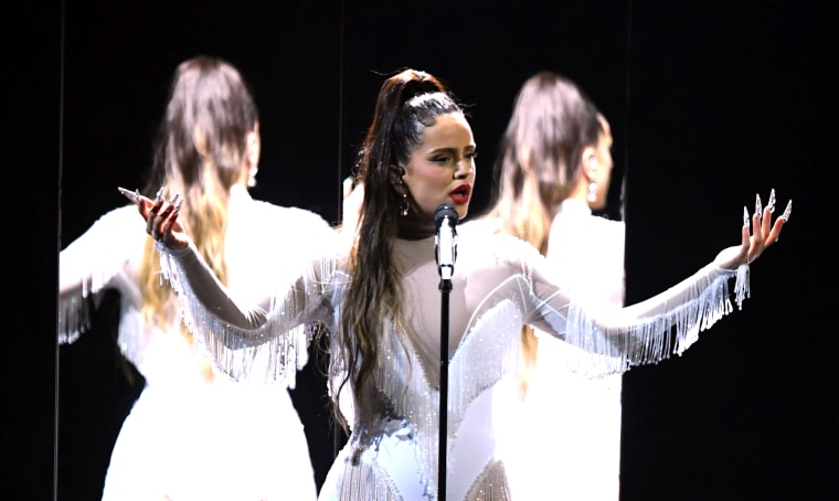 Watch ROSALÍA's pitch-perfect, all-too-short Grammys performance
