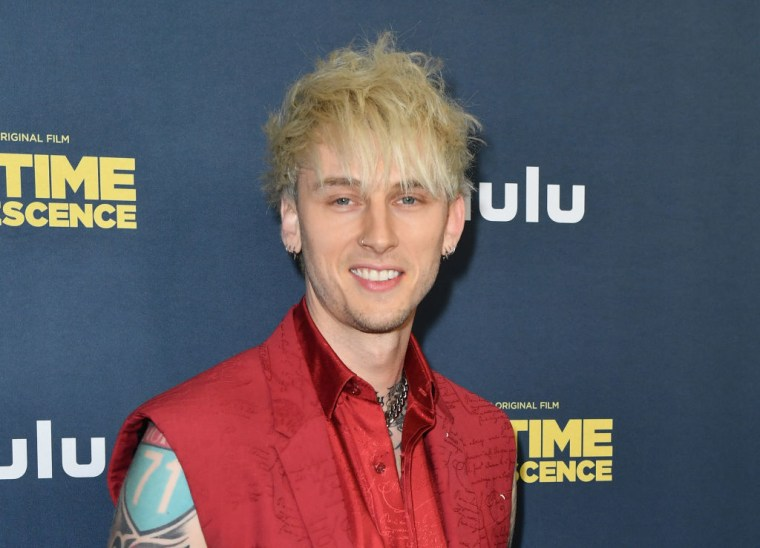 Machine Gun Kelly has the No.1 album in the country