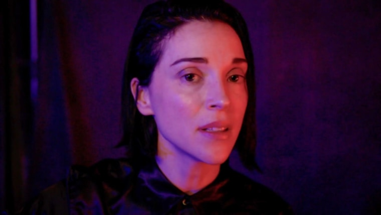 It looks like St. Vincent is releasing a new album titled <i>Daddy's Home</i>