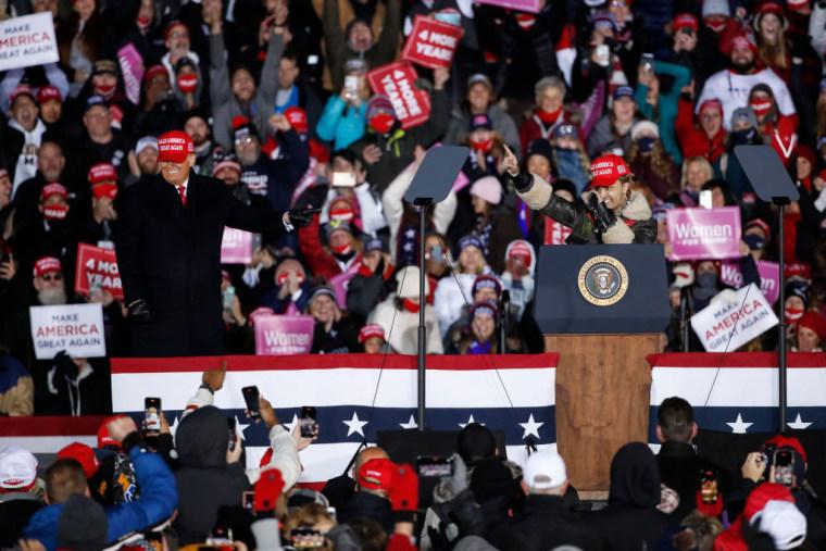 "Trump introduced Lil Pump as ""Little Pimp"" at a MAGA rally"