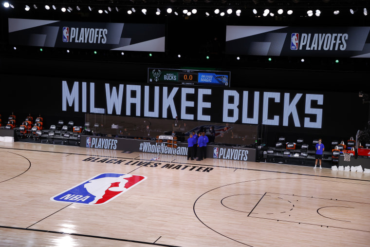 Multiple NBA games postponed as teams protest police shooting of Jacob Blake