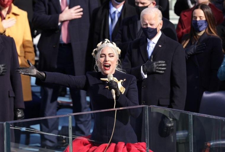 Watch Lady Gaga and Jennifer Lopez perform at the Biden/Harris Inauguration