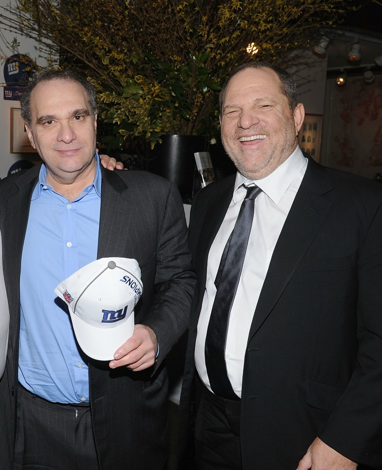Harvey Weinstein resigns from Weinstein Co. as brother Bob faces sexual harassment allegations