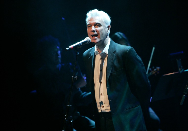 "Watch David Byrne perform Talking Heads' ""Once in a Lifetime"" on <i>SNL</i>"