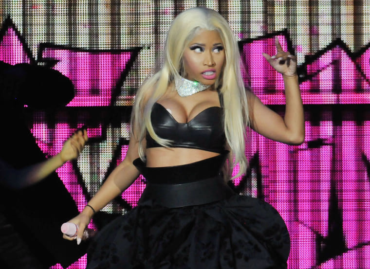 "The glorious, haywire resurrection of Nicki Minaj's ""Roman Holiday"""