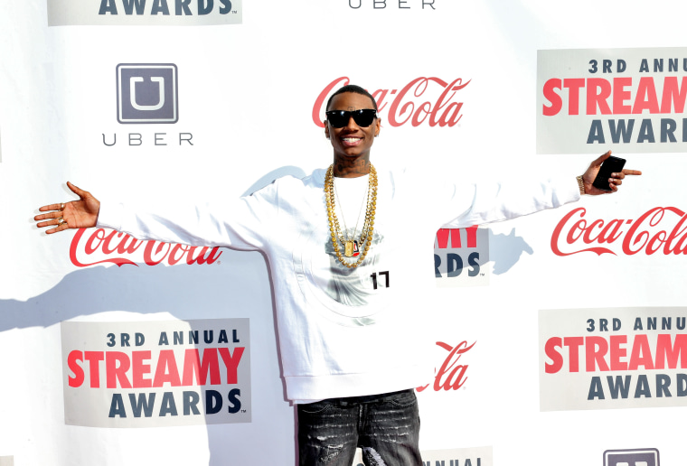 <i>Saturday Night Live'</i>s Soulja Boy parody has the rapper running for president