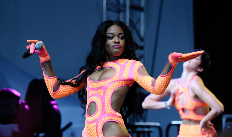 Most of Azealia Banks's favorite songs from the past decade are by artists she's beefed with