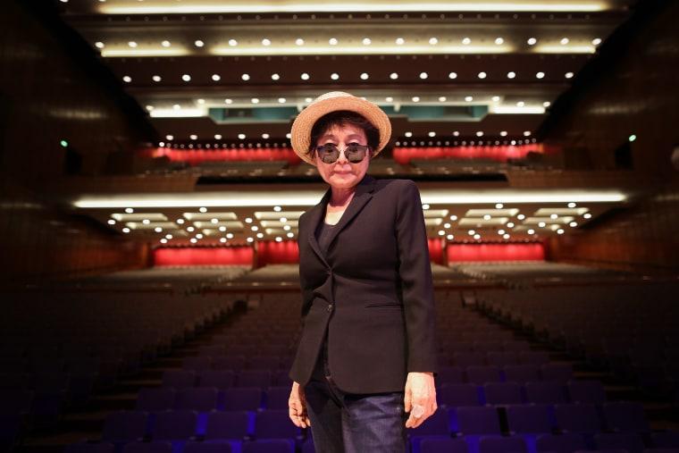 Yoko Ono Reportedly Hospitalized