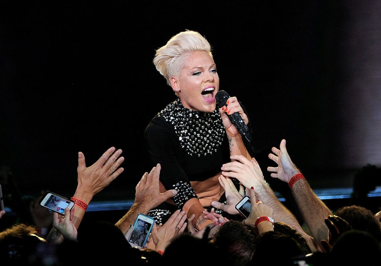 P!nk Will Receive The Video Vanguard Award At The 2017 MTV VMAs
