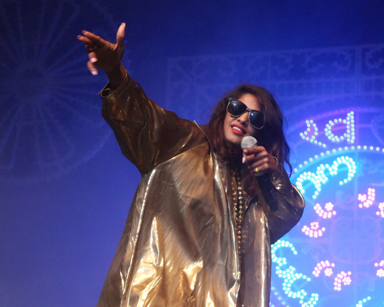 """M.I.A. drops her first song in three years, """"OHMNI 202091"""""""