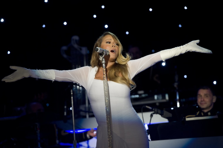 """Mariah Carey's """"All I Want For Christmas Is You"""" is No. 1 for the first time, 25 years after its release"""