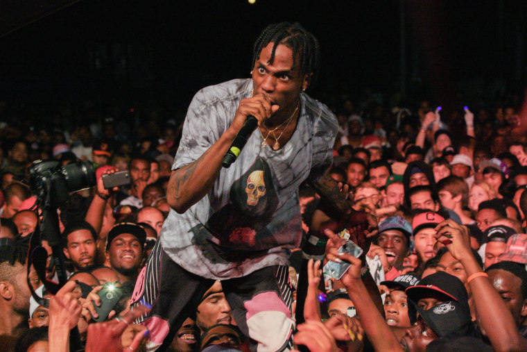 Travi$ Scott Spat On Swiss Fan Who Tried To Steal His Yeezys