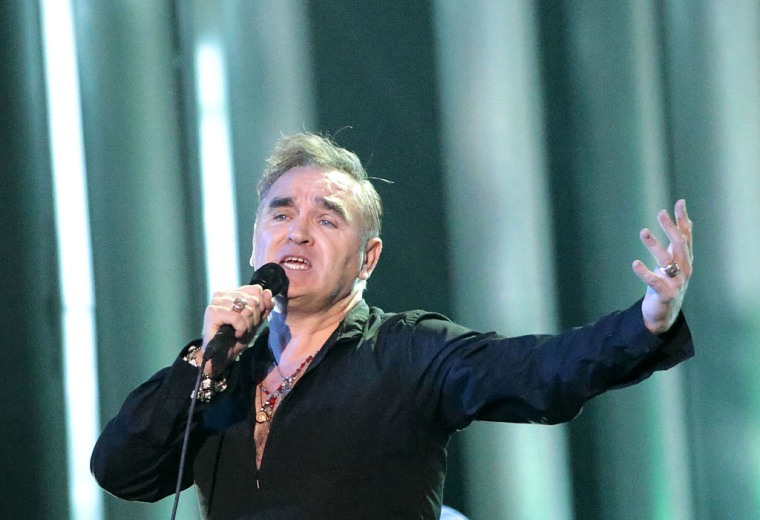 """Morrissey dropped by label, complains """"diversity"""" is behind decision"""