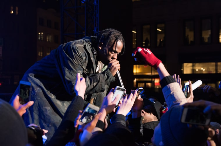 Travi$ Scott Tweets Mysterious Date