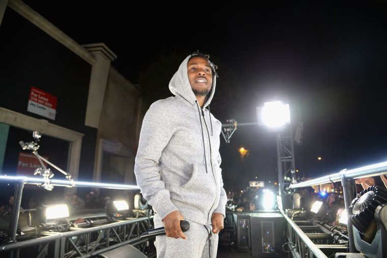 Kendrick Lamar Sat In On A High School Class In New Jersey