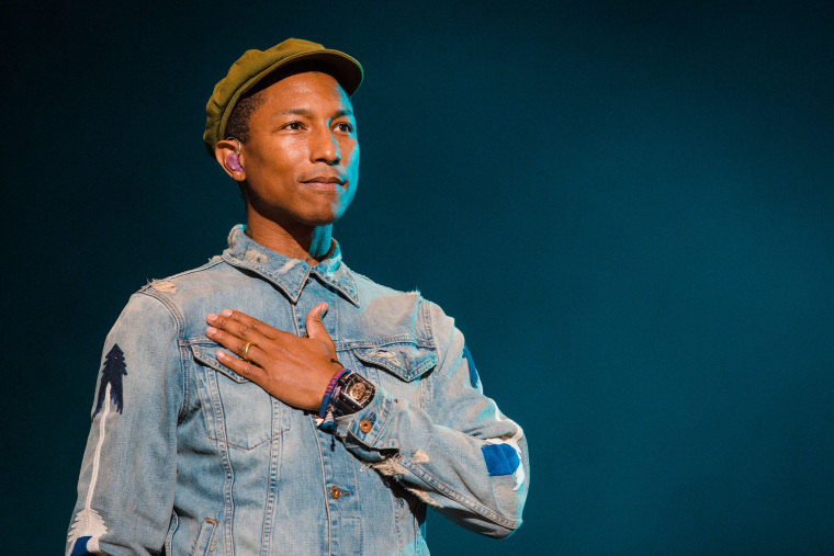 Pharrell Williams is finally dropping his own skincare line