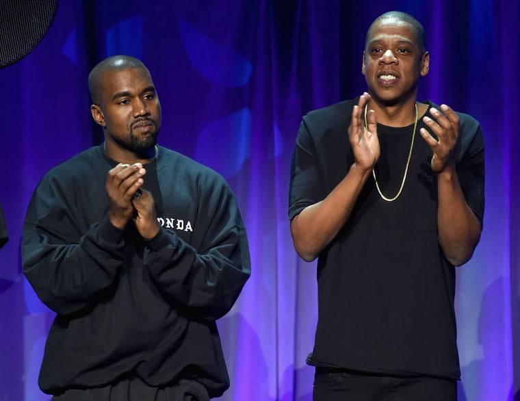 Image result for kanye west and jay z